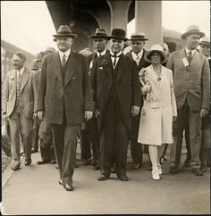 Herbert Hoover in San Francisco. 1928