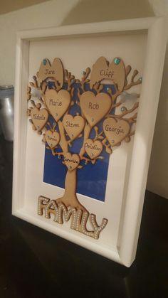 Personalised family tree @ glam-beautys  fb