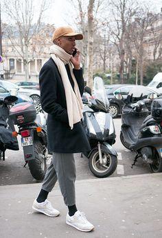 Street Style Models PFW Men's Fall 16 : Casual Friday - Lelook