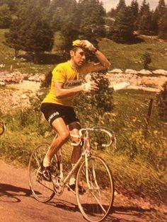 Eddy Merckx sheds a bottle Tour de France 1970