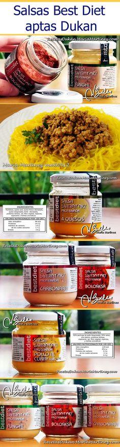 Análisis de productos aptos para la dieta Dukan: Salsas Best Diet Shirataki (aptas desde fase Crucero)