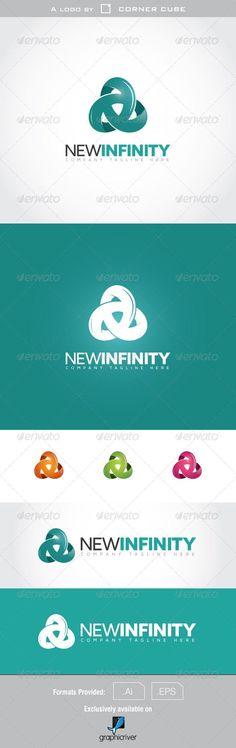 New Infinity Logo — Vector EPS #financial #abstract