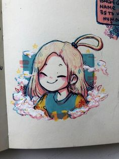 Anime Drawings Sketches, Cool Art Drawings, Cartoon Drawings, Cute Art Styles, Cartoon Art Styles, Arte Copic, Arte Sketchbook, Marker Art, Character Drawing