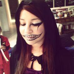 Halloween makeup...