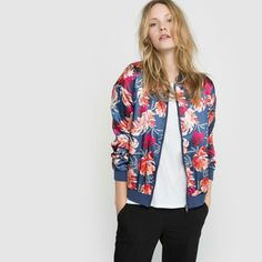 b26b06c37b42 Buy Black R edition Bomber jacket for woman at best price. Compare Jackets  prices from online stores like La Redoute - Wossel United States