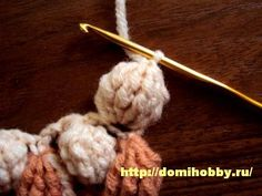 Russian Bobble Stitch with a great chart that clearly shows how many stitches are in the bobble.