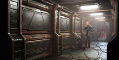 ArtStation - Sci-fi Interior design, Lenar Shakirov