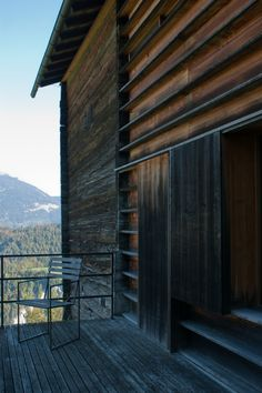Gugalun House by Peter Zumthor Peter Zumthor, Architecture Details, Interior Architecture, Architectural Photographers, Rustic Style, Texture, Journey, Exterior, Inspiration