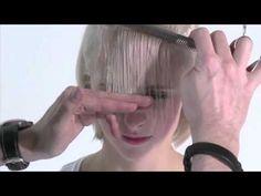 Passo a passo de como fazer um lindo corte de cabelo curto  #cabeloscurtos #pelocorto #shorthaircut