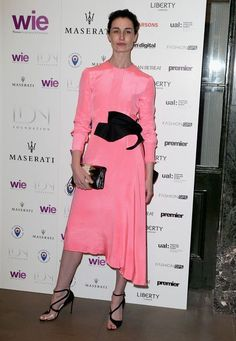 Nice Red Carpet Fashion Erin O'Connor Photos: LDNY Fashion Show & WIE Award Gala - Red Carpet Arrivals