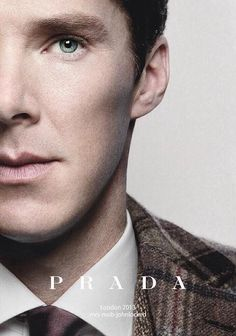 Benedict Cumberbatch Prada Photoshoot