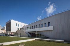 ©11h45 / Gymnase Manet, Villeneuve-la-Garenne (92) - Tessier Poncelet Architectes - Photographies pour Lifteam