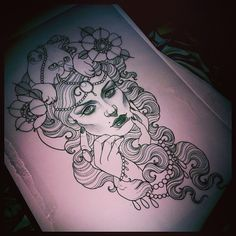 Emily Rose Murray, tattoo design
