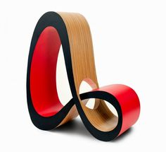Infinity Chair - Jenny Trieu from the University of Houston | Wilsonart Student Chair Design Competition