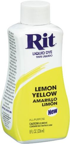 9e567f6e5e Rit AllPurpose Liquid Dye Lemon Yellow   Check this awesome product by  going to the link