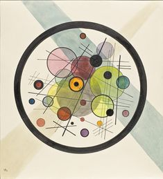 """Study for """"Circles in the Circle"""" 