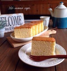 私のしっとりはちみつカステラ〜保存版レシピ〜パウンドケーキ型でも!!