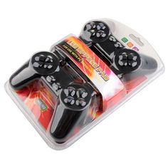 Features: USB interface, plug and play Dual gamepad, interact