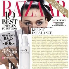 September issue madness! This time Harper's Bazaar. Amazing article on your skin's pH balance, the Phace Bioactive line, and our Detoxifying Gel Cleanser. #thephacelife #ph #phbalance #clearskin #healthyskin #health #wellness #beauty #buildingabrand #harpersbazaar #editorial #gratitude #happiness #buildingabrand #nontoxic #natural #naturalskincare #skin #pure #glow #septemberissue #saks