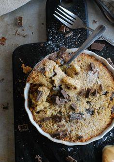 Chocolate chip cookie cake (glutenfri, utan tillsatt socker) //Baka Sockerfritt