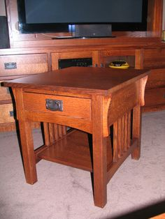 Quarter sawn oak coffee table Norman is our Mennonite maker for