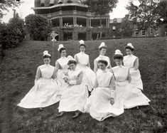 Angels Alfresco: 1910 | Shorpy Historic Picture Archive