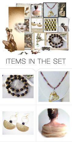 """""""Eclectic Inspiration"""" by jarmgirl ❤ liked on Polyvore featuring art and vintage"""