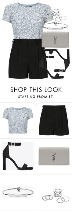 """""""Style #9900"""" by vany-alvarado ❤ liked on Polyvore featuring мода, Adrianna Papell, Yves Saint Laurent и MICHAEL Michael Kors"""