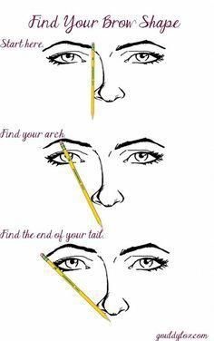 The Definitive Guide to Defining Your Brows | Gouldylox Reviews | Eyebrow Shaping Tutorial, Eyebrow Tutorial For Beginners, Old Makeup, Basic Makeup, Makeup 101, Makeup Tricks, Makeup Ideas, Makeup Tools, Makeup Designs How To Shape Eyebrows For Beginners, Makeup Tips For Beginners, Eyebrow Tutorial For Beginners, Makeup Tips For Blue Eyes, Eye Makeup Tips, Hair Makeup, Beauty Makeup, Beauty Bar, Makeup Tools