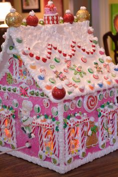 Personalized Wood Wired Gingerbread House by cathypagedaniel