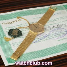 """Rolex Cellini Vintage - """"Original Papers"""" REF: 0000 