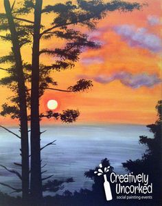 Shore Trees | Creatively Uncorked | http://creativelyuncorked.com