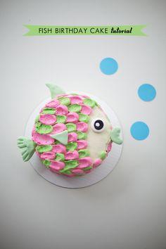 Fish Birthday Cake Tutorial
