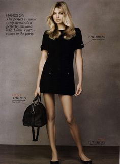 Jessica Hart for Vogue Australia Editorial Pick 'N' Mix, December 2010. Credit: MyFDB