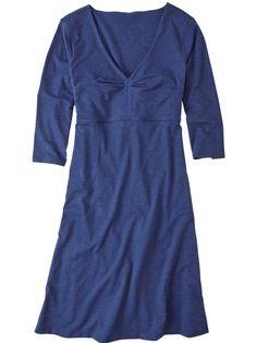 Amelia 3/4 Sleeve Dress - Solid
