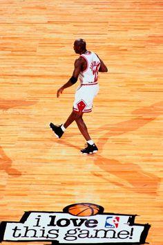 """Michael Jordan """"I Love This Game"""""""