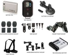 GoPro - Hero Camera Accessories (Go Pro)