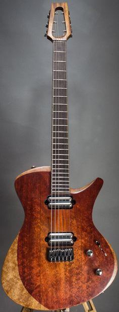 "Anasontzis Guitars custom model ""S"" --- made in Poland"