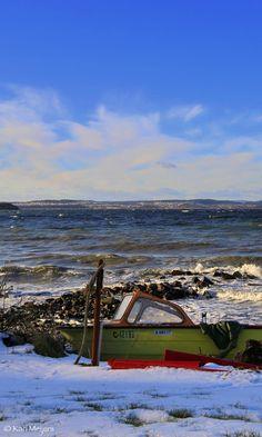 Stormy Winterday ,Jeløya- Norway by Kari  Meijers on 500px