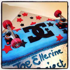 Joe's skateboard cake