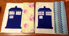 Doctor Who inspired reversible placemats! $18 each https://www.facebook.com/SewSimplyCute