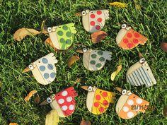 Keramika | Fler.cz Ceramic Fish, Ceramic Birds, Ceramic Animals, Ceramic Flowers, Ceramic Clay, Ceramics Projects, Polymer Clay Projects, Salt Dough Crafts, Biscuit