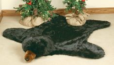 Buy all your rustic area rugs, cabin accent rugs and bear rugs at Black Forest Decor, your primary source for moose rugs and cabin rugs. Bear Skin Rug, Bear Rug, Black Bear Decor, Black Forest Decor, Rustic Cabin Decor, Rustic Gifts, Lodge Decor, Boys Hunting Room, Disney Princess Room