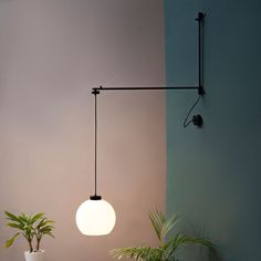 Sucursal Wall Lamp - Blk/White | Luz Difusion