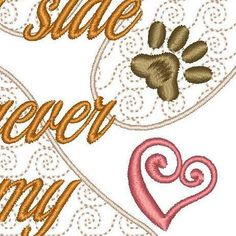Pet Loss Sympathy Memorial Embroidery Design by DigitalThreadWorks