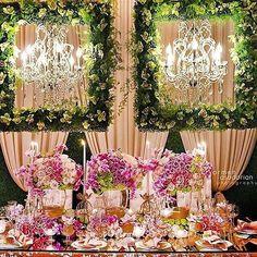 The luxurious eleganceof this wedding is #breathtaking! Pic: @armenphoto | Florals: @celiosdesign | Event Design: @alianaevents