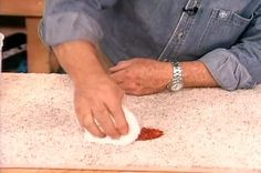 How to Remove Carpet Stains • Ron Hazelton Online • DIY Ideas & Projects