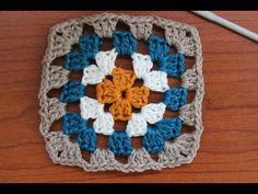 Návod na háčkování základního čtverce Textiles, Blanket, Crochet, Blog, Granny Squares, Style, Swag, Chrochet, Rug