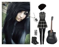 """Street Performer"" by black-veil-queen ❤ liked on Polyvore featuring Refresh, ONLY and Forever 21"