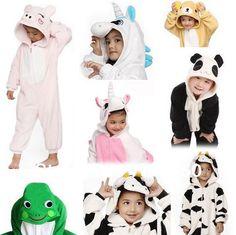 pijama com winteranimal pikachu/leopardo gato/elefante/ponto azul/bear/panade/dinossauro sleepwear US $16.70
